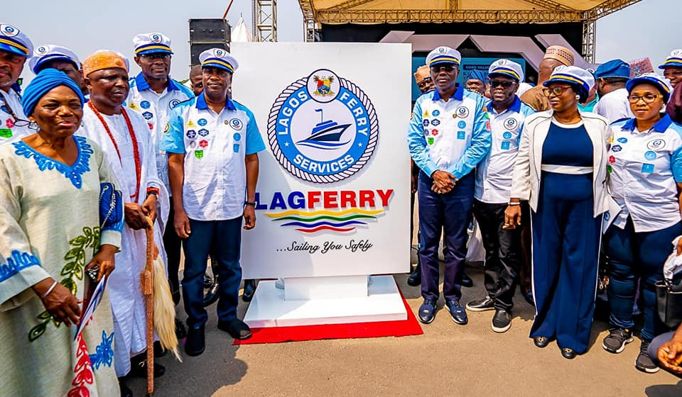 Sanwoolu Launches Ferry Commercial Operations In Lagos.