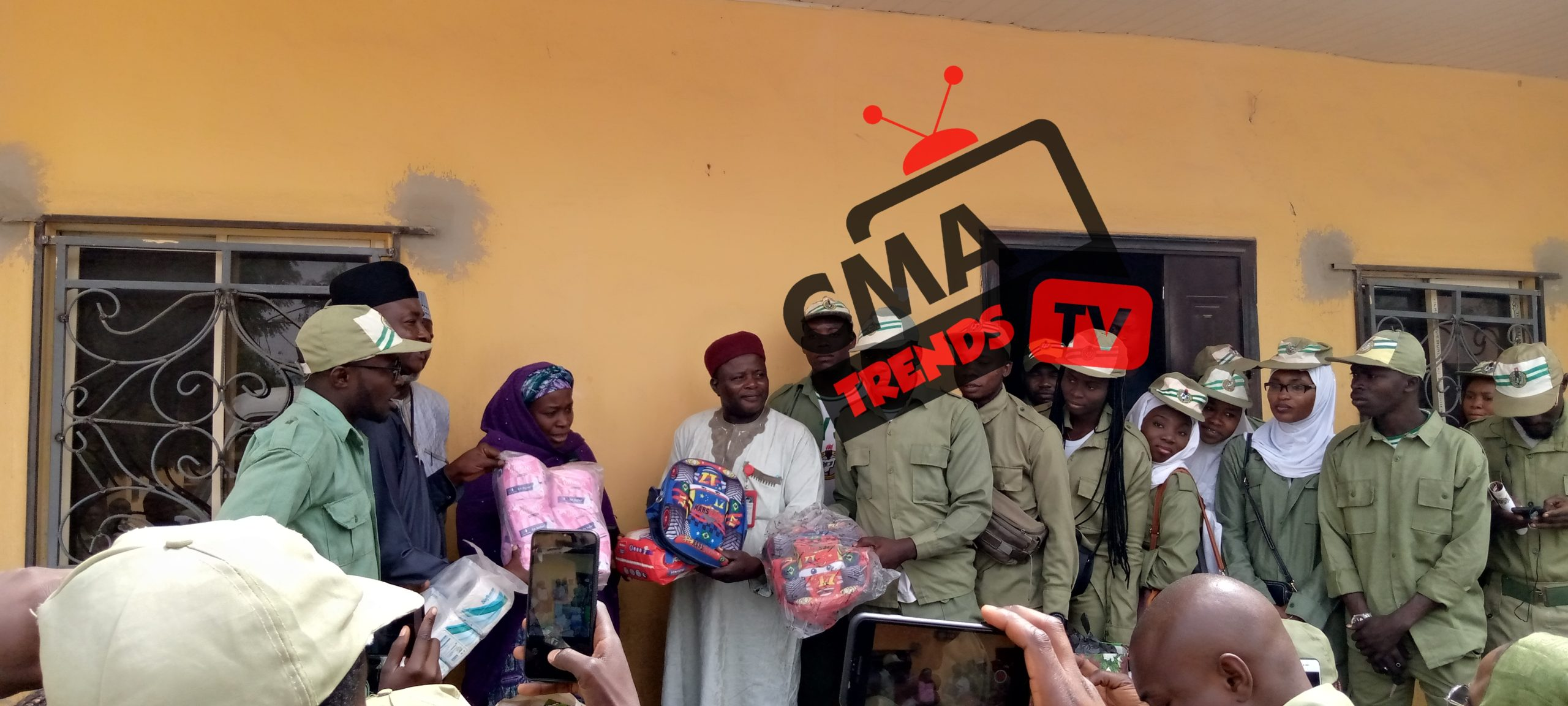 A True Service To FatherLand, Kano Corpers Pay Visit to Orphanage Home