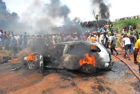 Mad O!! Nigerian Youths Fight Over Women, Many Injured, One Dead