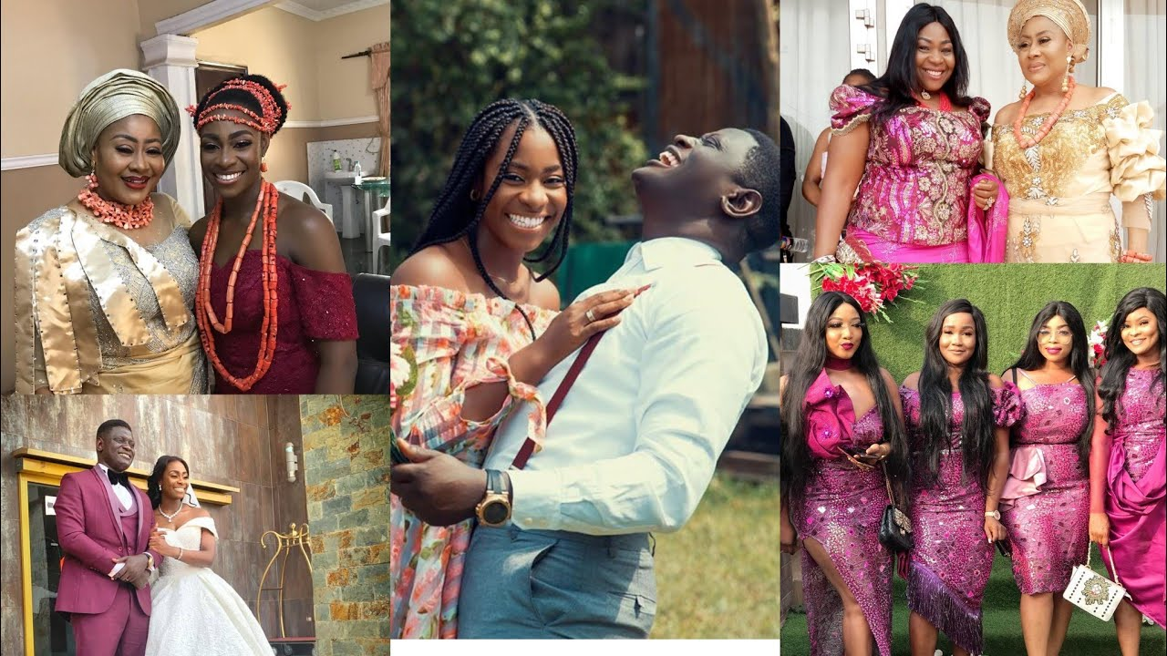 See Pictures From Actress Ngozi Ezeonu's Daughter's Wedding