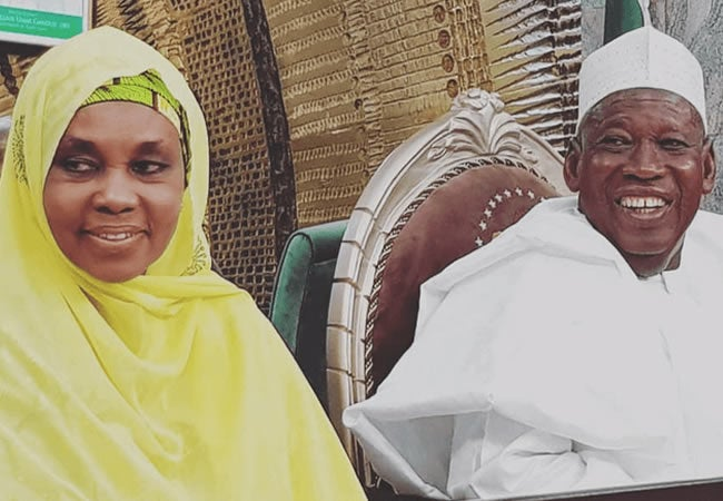 """""""We Am Not COVID-19 Positive""""- Kano State Governor And Wife Debunk Rumours"""