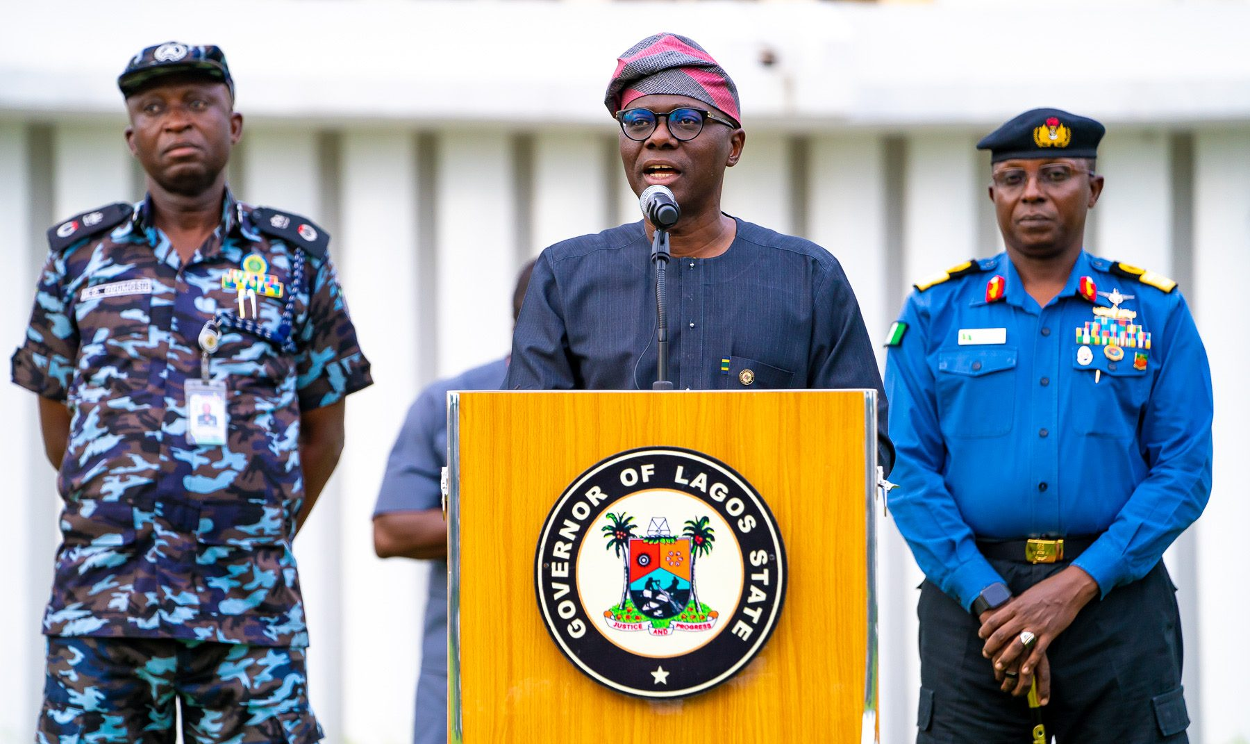 Lagos State Govt. Mandates All Residents To Wear Face Masks From Next Week (Video)