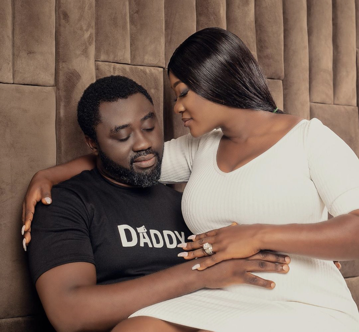 """My Wife Has Not Given Birth Yet"" – Mercy Johnson's Husband Clears The Air"