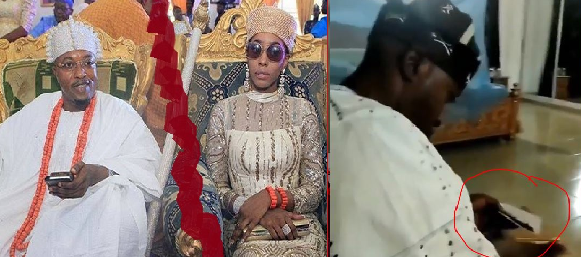 Oluwo of Iwo's Ex-wife, Chanel Chin Leaks Video Him Rolling Up Marijuana