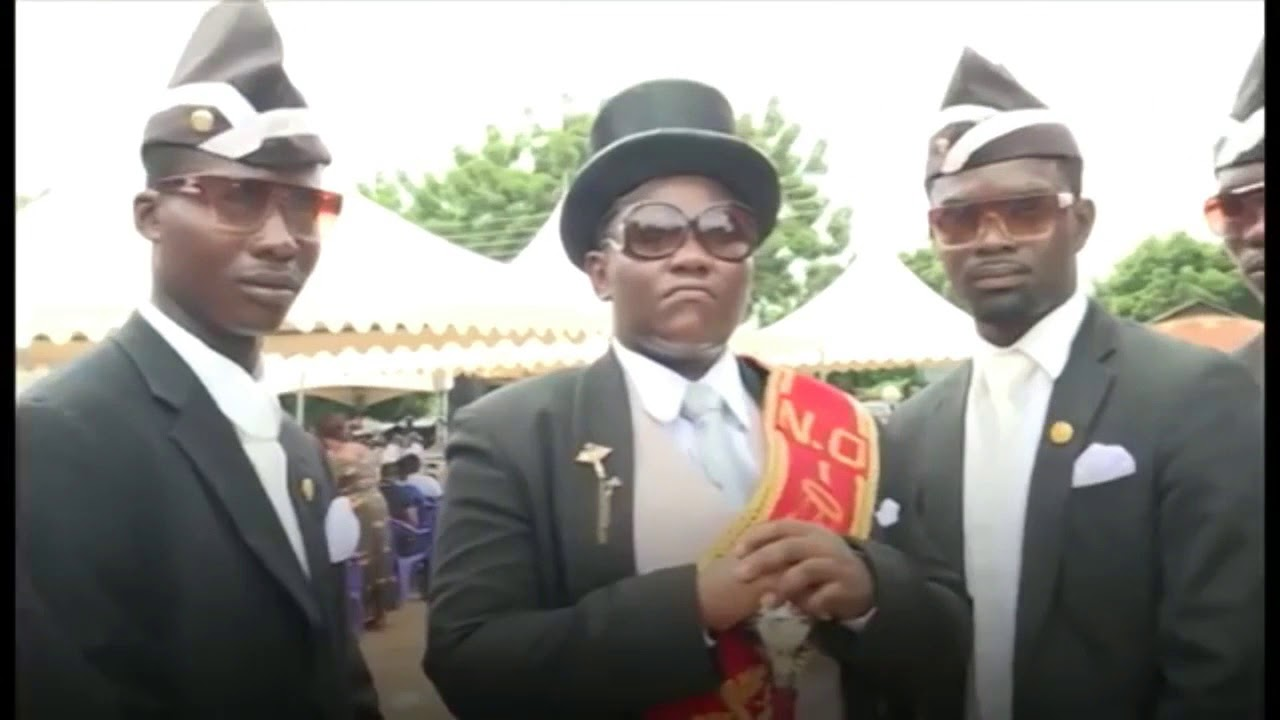Do You Know Who Made The Famous Ghanaian Dancing Pallbearers' Song? (See Who)