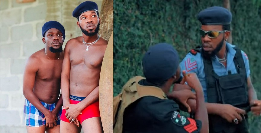 "Comedy Video: Broda Shaggi-""NAKED POLICE"""