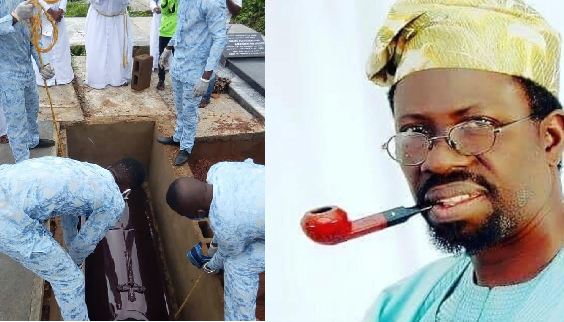 Finally Laid To Rest! Funeral Of Veteran Actor, Olukayode Odumosu 'Pa Kasumu'