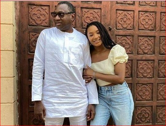 See Femi Otedola's Response To Instagram Follower Who Asks To Date His Daughter, Temi