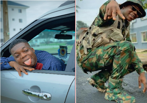 """I Am Still In The Service""- Cute Abiola Reveals After Facing Court Marshal"