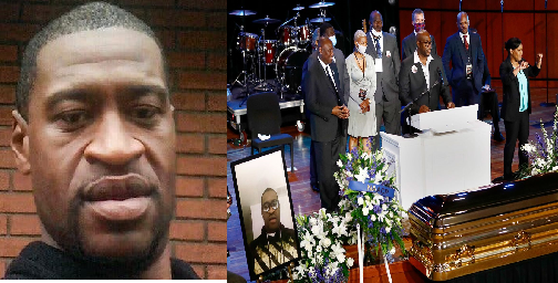 Laid To Rest! See Photos From George Floyd's Memorial Service