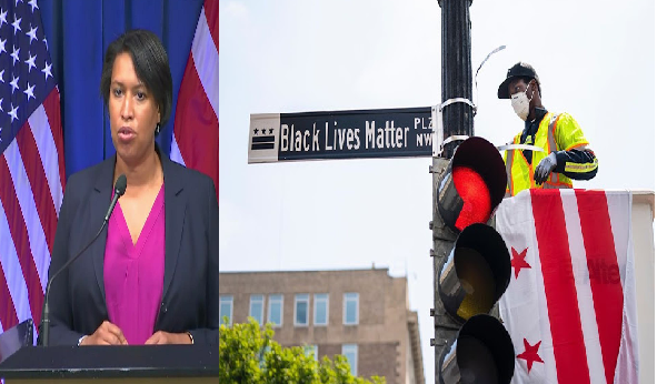DC Mayor, Muriel Bowser Changes White House Road Route To 'Black Lives Matter'