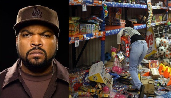 Wallmart's Loot: Ice Cube Promises To Cover Damages With $100k If Police Will Not Make An Arrest