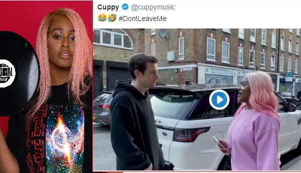 """""""This Life No Balance At All"""" Fan Reacts As DJ Cuppy Joins The #dontleaveme Challenge Using A Range Rover"""