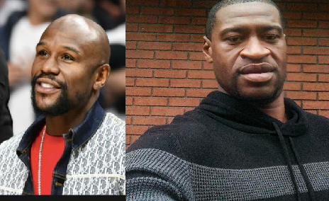 Former World Champ' Boxer, Floyd Mayweather Reportedly Pays For George Floyd's Funeral