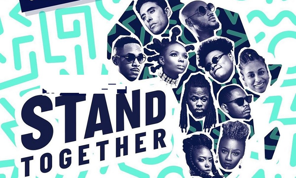 """Stand Together"" ft. 2Baba, Yemi Alade, Teni, & More 