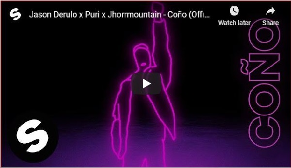 Jason Derulo -Coño Ft. Puri & Jhorrmountain || Mp3 Download