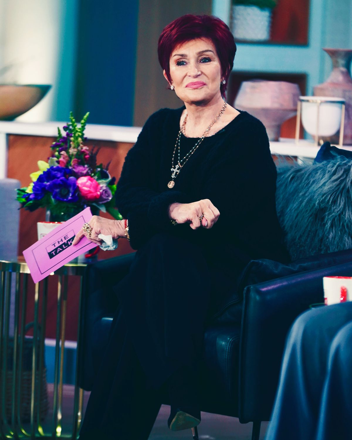Sharon Osbourne increases security over death threats.