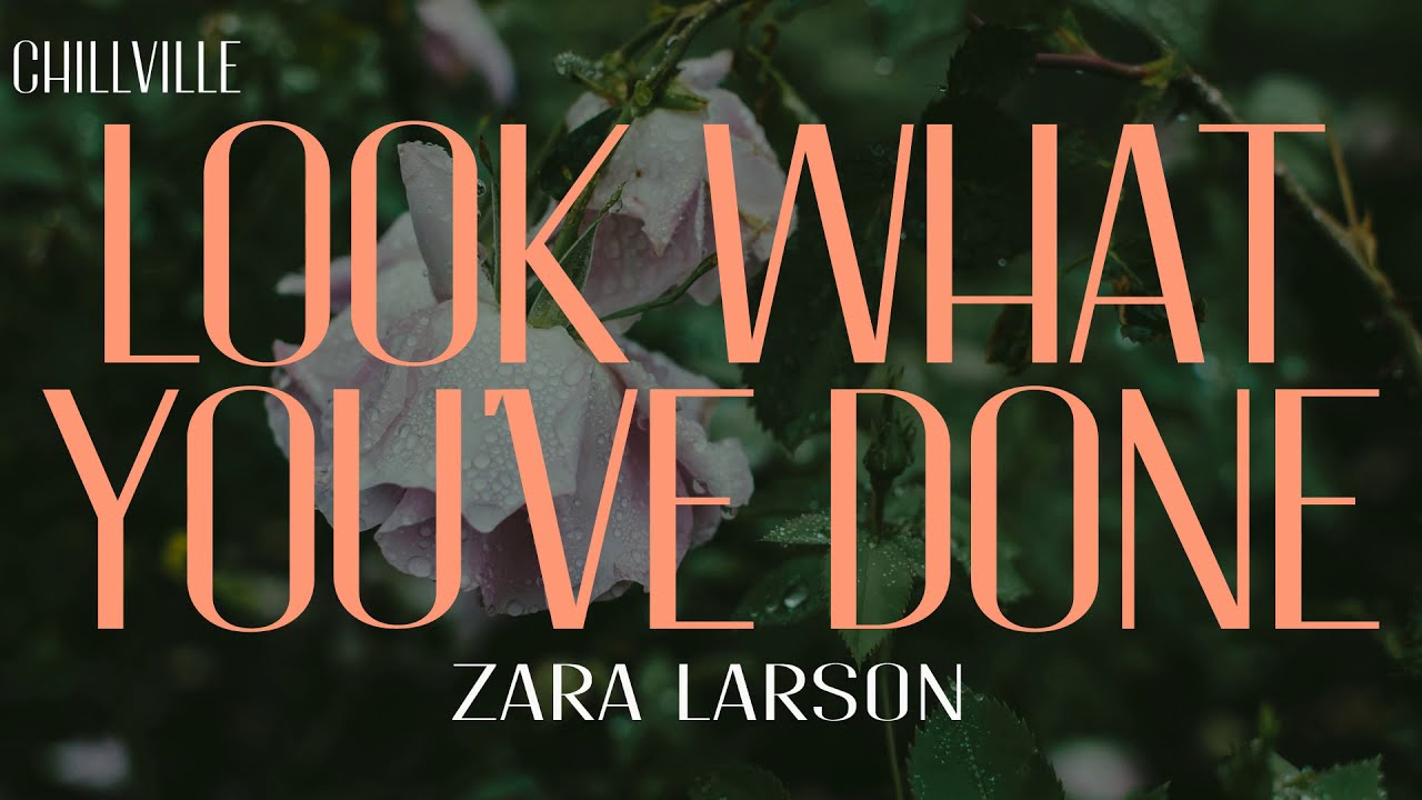 DOWNLOAD MP4: Zara Larsson – Look What You've Done