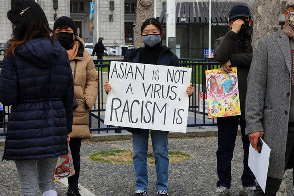 Black lives matter: Asian-American hate.