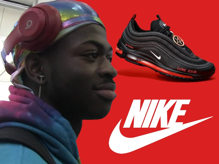 NIKE SETTLES SATAN SHOE LAWSUIT …Lil Nas Gear Won't Be on ANY Feet