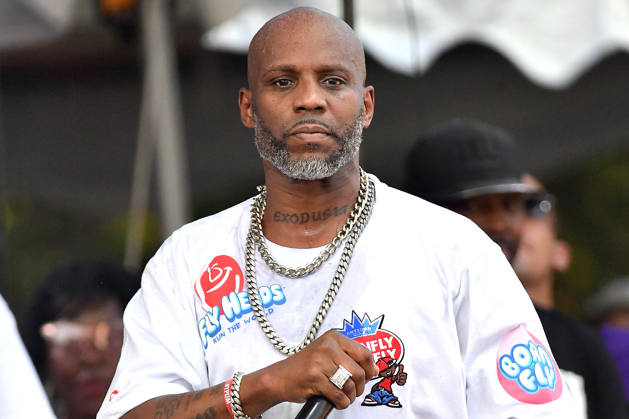 DMX STILL ON LIFE SUPPORT …