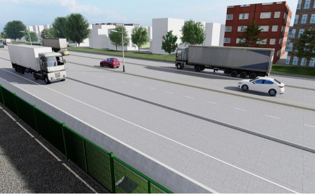 Lagos Uses Concrete Pavement For 18km Eleko Epe Junction