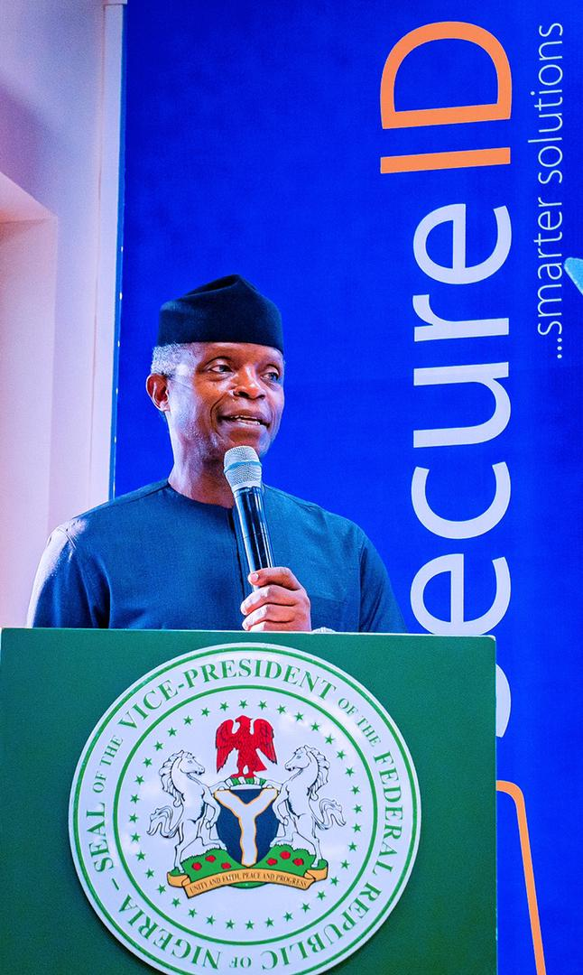 Osinbajo: The Economic Future Of Our Nation Is Extremely Bright