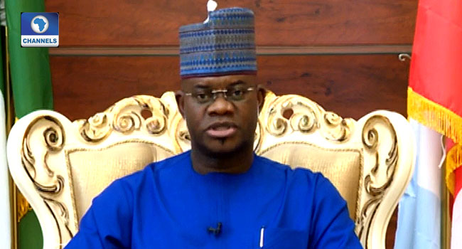 Yahaya Bello: Let Us Restructure, Allow Younger People Take Control