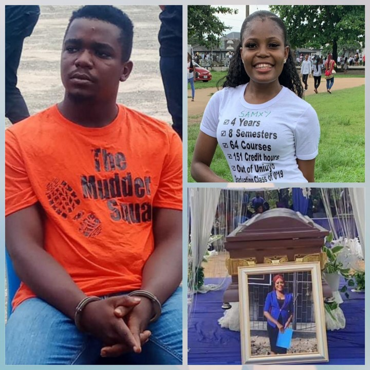 Frank Uduak-Akpan Wore 'The Mudder Squad' T-Shirt While Being Paraded By Police
