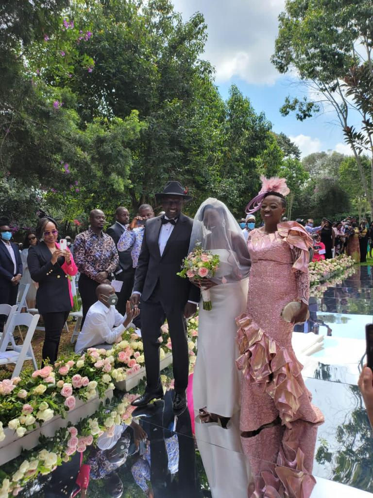 VIDEO: See DP Ruto's Daughter Colourfull Wedding with Nigerian Fiance at DP's Karen Home