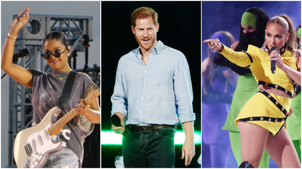 A 'Vax Live' Photo Gallery: Jennifer Lopez, Foo Fighters, J Balvin, H.E.R., Prince Harry, Chrissy Teigen and More