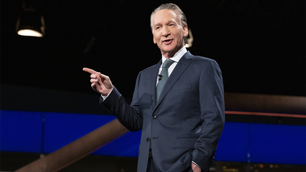 Bill Maher Tests Positive for COVID, Delaying 'Real Time' Taping