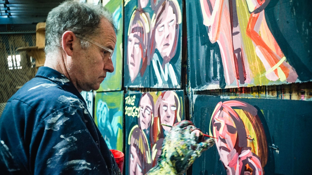 First Book From Legendary Indie-Rock Painter Steve Keene in the Works