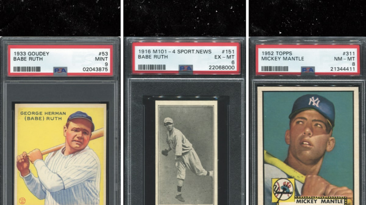 Florida Doctor's $20 Million Baseball Card Collection Hits Auction After COVID Death