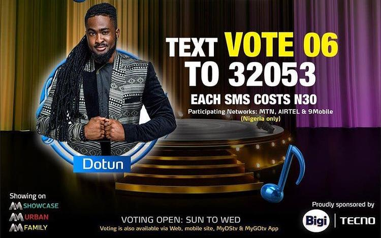 How to DOTUN Nigerian Idol Season 6 (2021)   SMS Voting Code, Website and MyGOTV and DSTV App