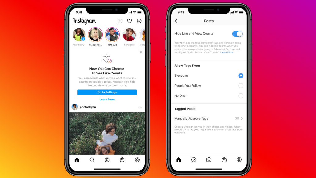 How to Hide Instagram, Facebook Like Counts From Public View