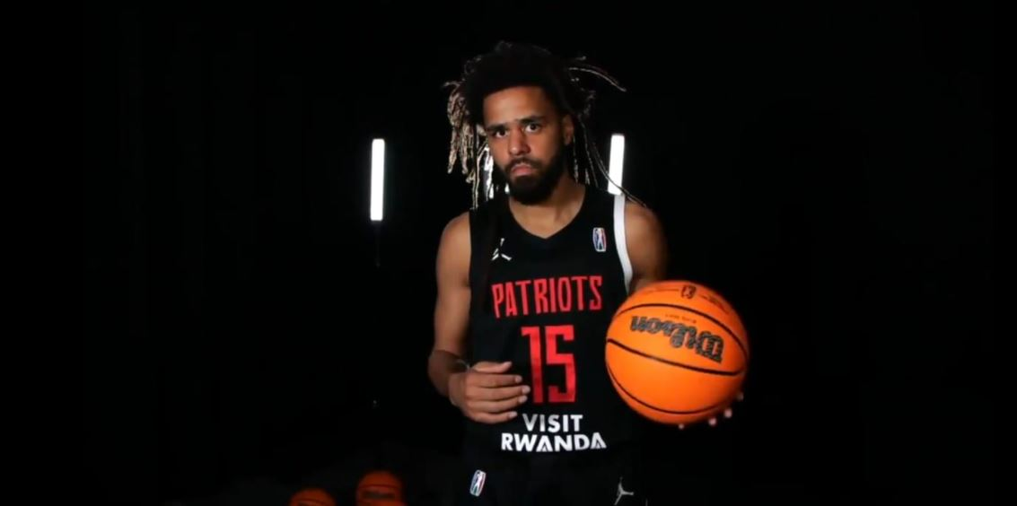 J. Cole plays his first game in the Basketball Africa League