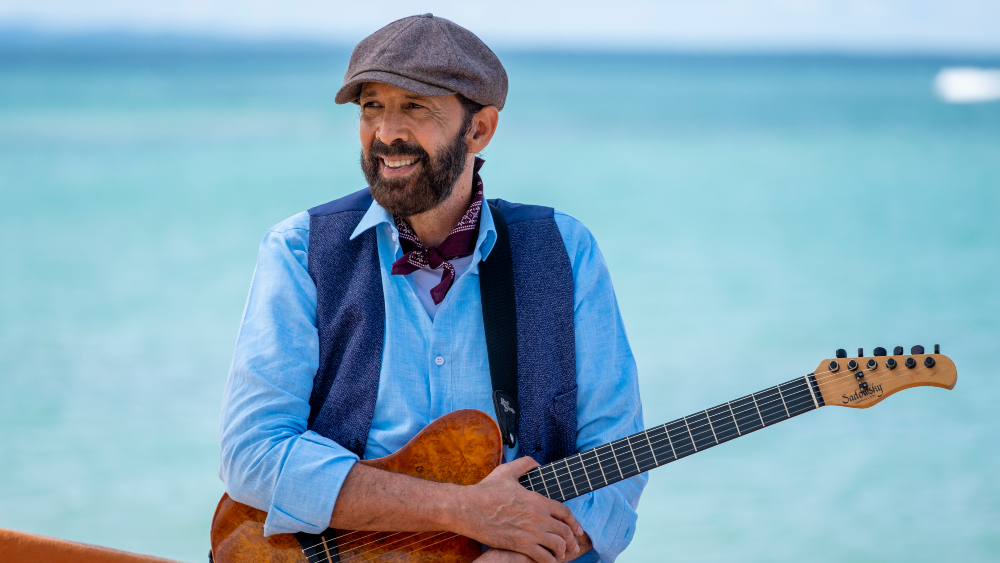 Juan Luis Guerra Holds Beach Concert for HBO Max, HBO Latino