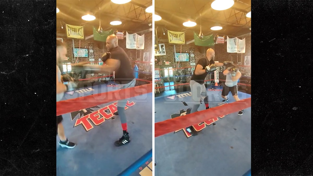 Lamar Odom Looking Polished Ahead Of Aaron Carter Fight, New Sparring Video Shows