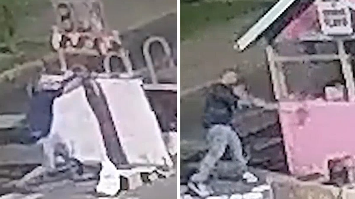 Man Attempts to Destroy George Floyd Square Memorial with Ax