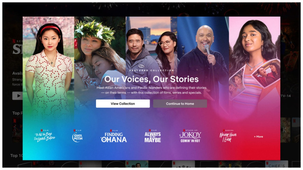 Netflix Launches Asian American Hub for AAPI Heritage Month
