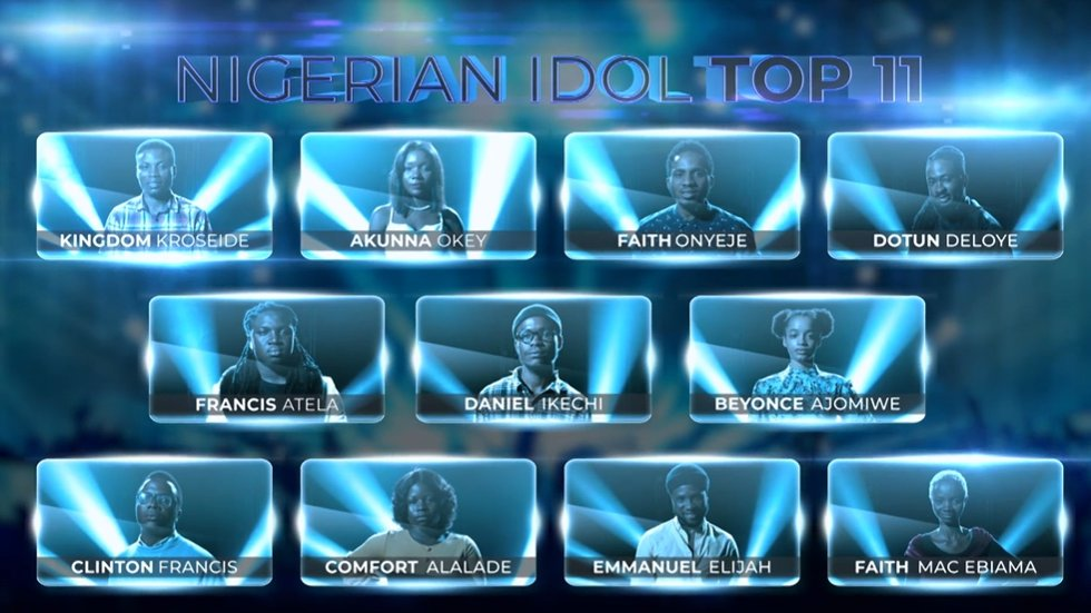 Nigerian Idol Top 11 Contestants Name, Profile/Biography and Pictures (Season 6) 2021