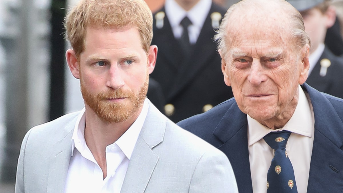 Prince Harry Slept Through Phone Calls Alerting Prince Philip's Death