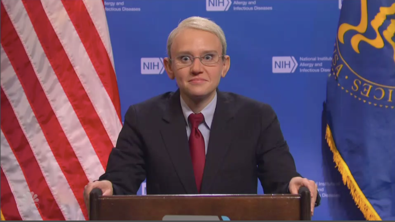 'Saturday Night Live' Uses Comedy To Explain the CDC's New Mask Rules