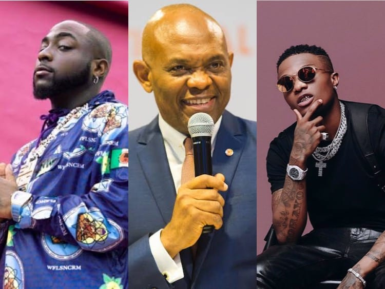 Tony Elumelu Drops His Davido-Dominated Afrobeats Playlist