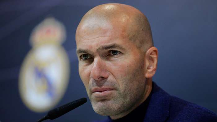 Zidane To Leave Madrid At The End Of The Season After Telling Real Squad Of His Decision