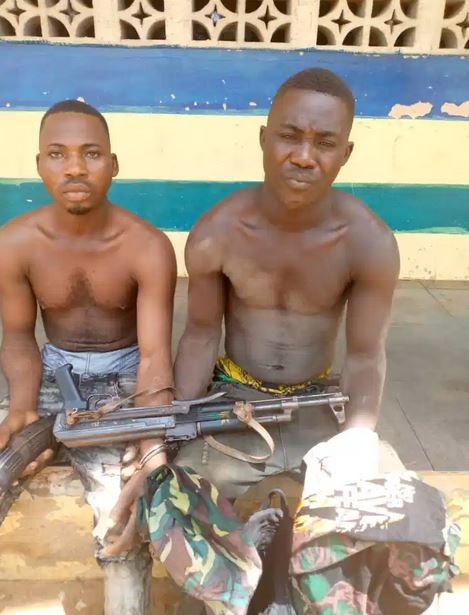 Two Inmates In Owerri Prison Arrested With AK47 Rifle (Photo)