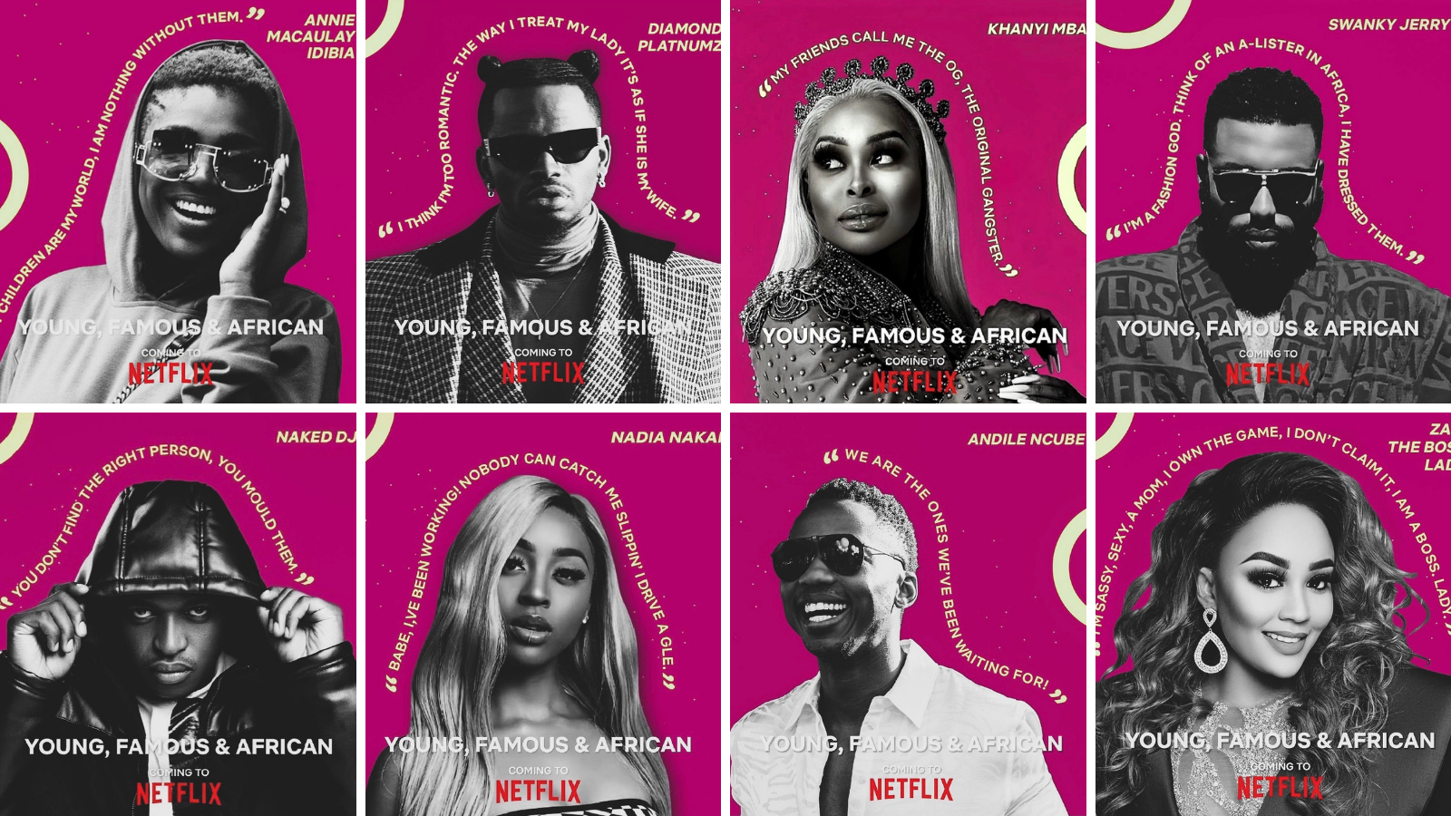'Young, Famous and African': Peace Hyde to produce Netflix's reality series starring Annie Idibia, Swanky Jerry, others