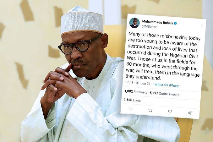 PDP Rejects The Suspension Of Twitter, Cautions That Buhari Is Pushing Nigerians