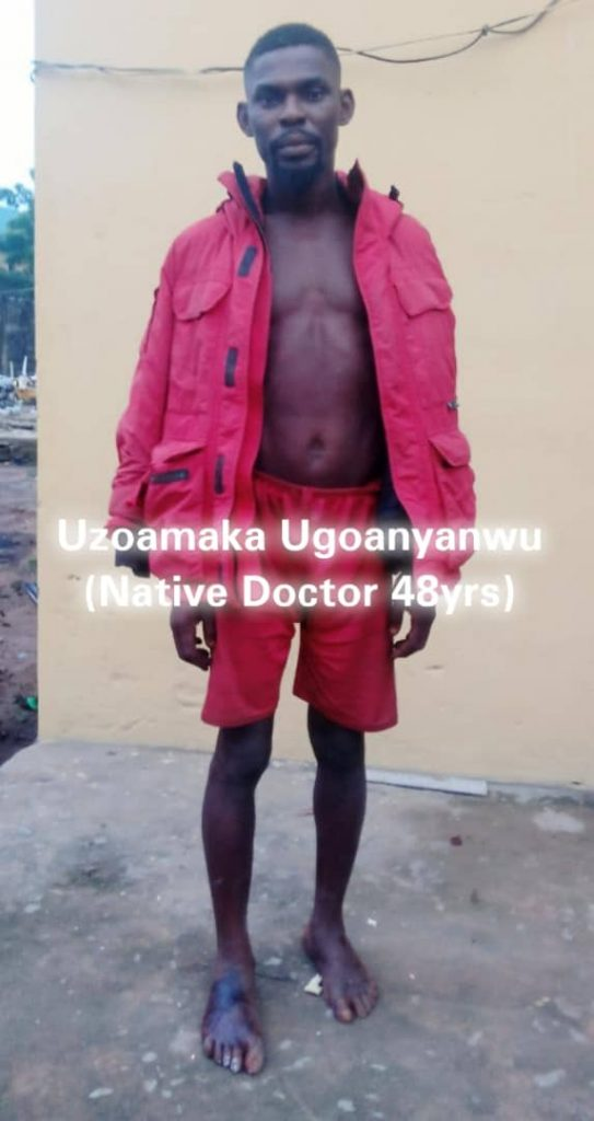 Police Arrest Native Doctor Who Prepares Charms For IPOB/ESN In Imo